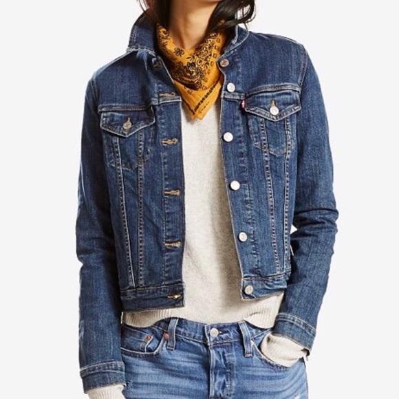 Levi's Jackets & Blazers - Levi's Denim Trucker Style Jacket Sz S